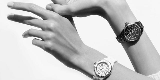 香奈儿陶瓷手表图片