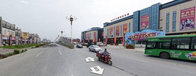 灵川首座人行天桥开建,跨度60多米成为桂林之最!