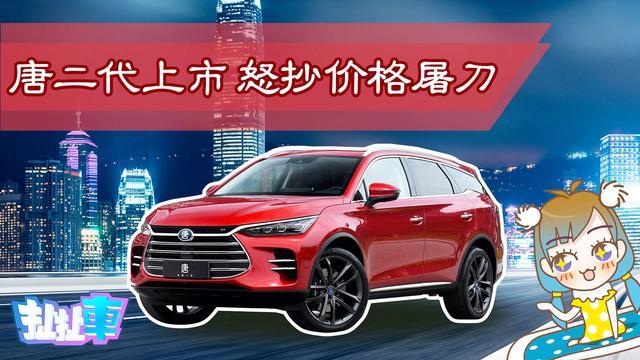 「扯扯车」价格搅局者 高颜值中型7座SUV比亚迪唐12.99万起售