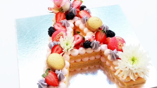 字母蛋糕,2018蛋糕新趨勢