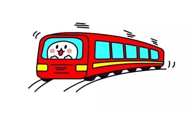 幼儿火车简笔画
