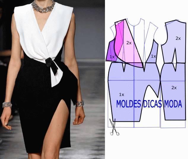 裙子制版|28张女士夏装裁剪图