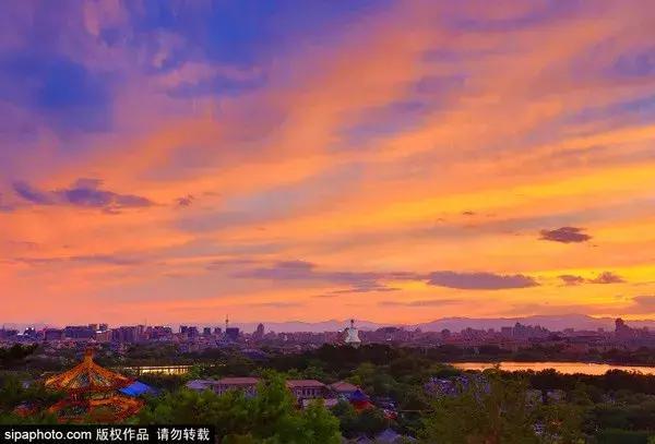 北京夜景图片实拍