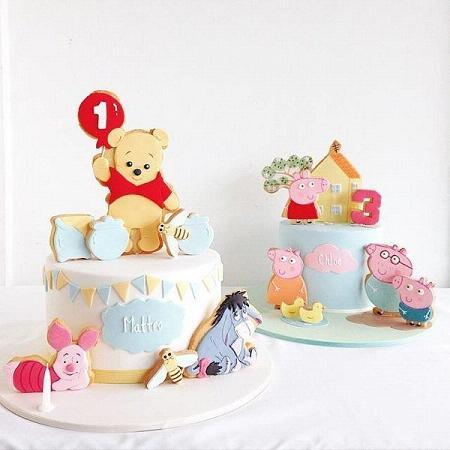Small pure and fresh and beautiful cake collection books