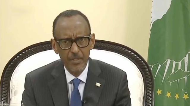 卢旺达总统卡加梅赢得连任