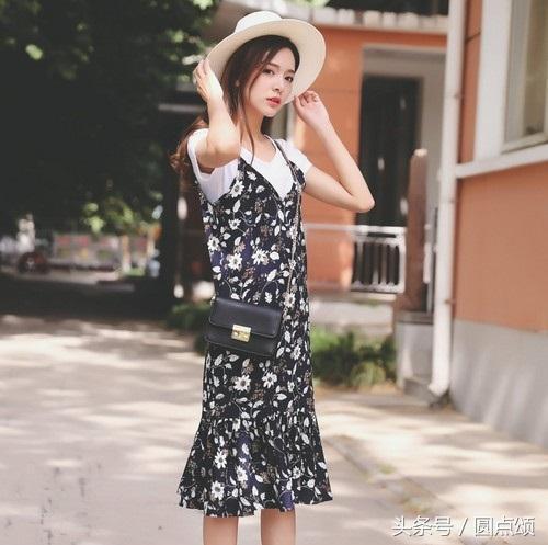女款黑色吊带打底衫