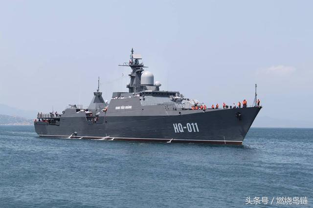 """越南海军的骄傲,图谋南海的本钱——俄罗斯""""猎豹3.9""""型护卫舰"""