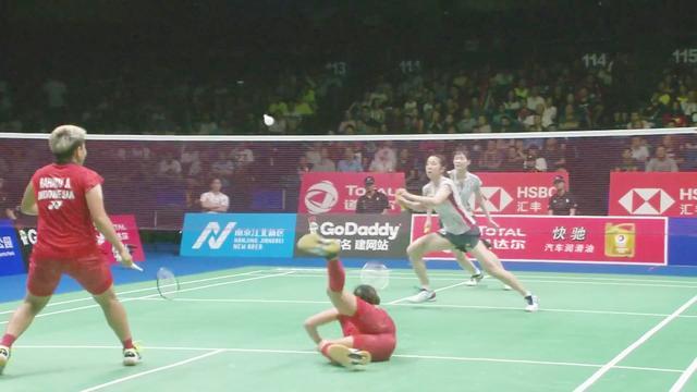 羽毛球世锦赛首金被日本队摘得,松本麻佑/永原和可那女双卫冕