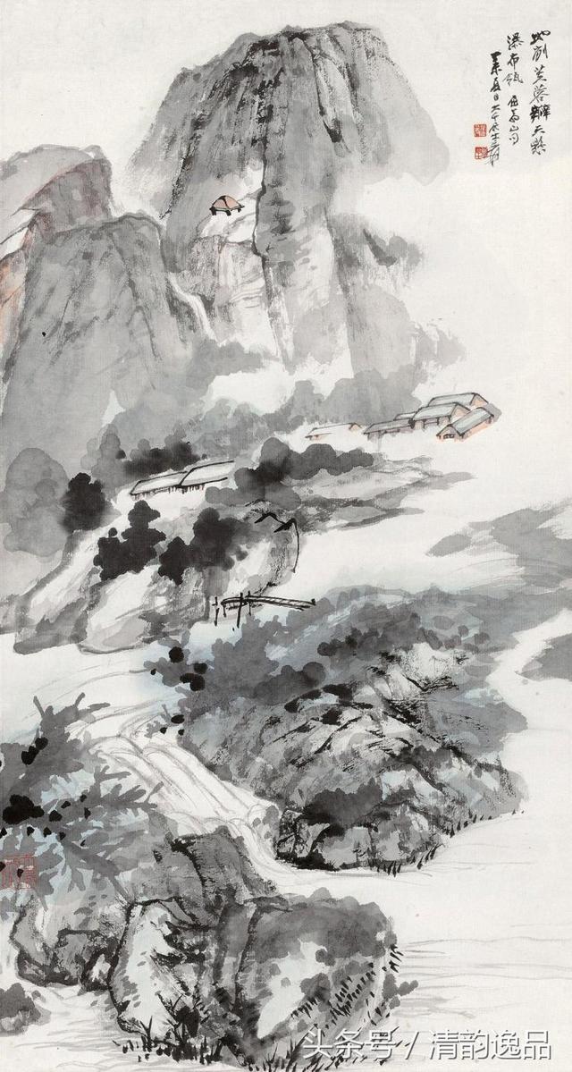 名画欣赏丨《长江万里图》张大千_手机搜狐网
