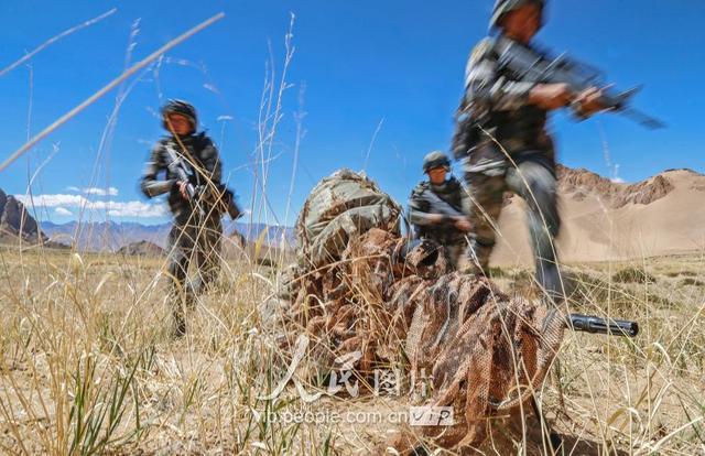 高海拔战备拉动!解放军西藏山南军区野外驻训_新浪图片