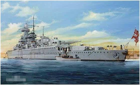 """德意志帝国海军第一艘战列巡洋舰——""""冯·德·坦恩""""号"""