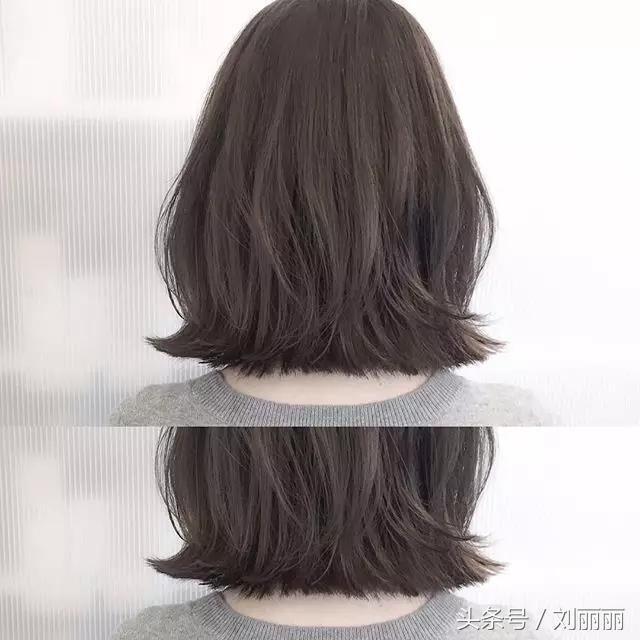 短发外翻发型图片女
