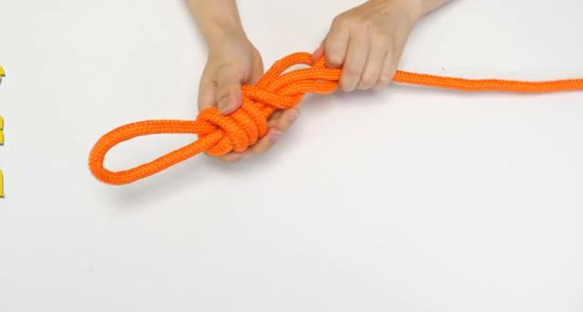 两根绳子怎么打结结实