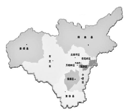 太原市地图
