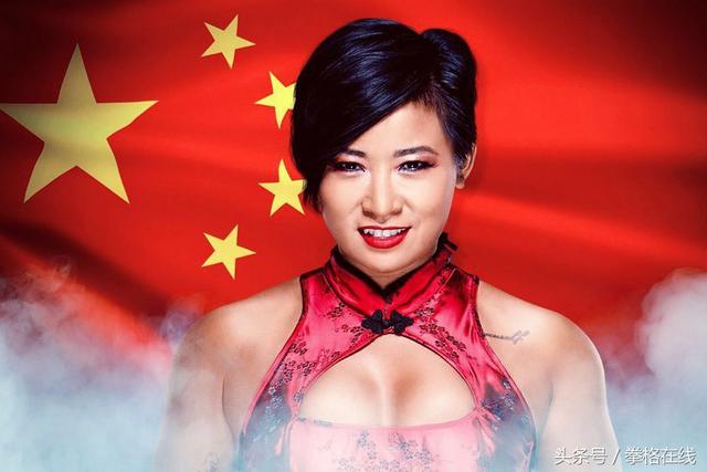 "WWE""中国女将""李霞,三围比例出众,把中国功夫... _手机网易网"