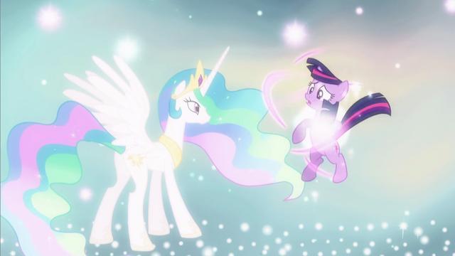 消失的紫悦见到了宇宙公主,她长大了她要履行自己的命运了!