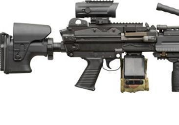 比利时-M240通用机枪