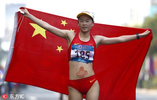 世锦赛收官日 女子20公里竞走杨家玉摘金 - 体育 - 新京报网