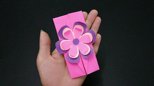 教师节手工制作立体花朵贺卡,简单漂亮又省钱,老师收到乐开花