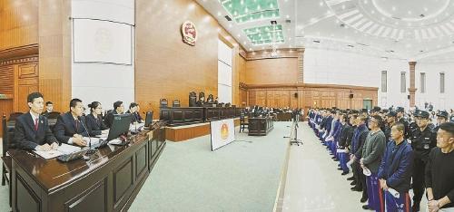 东营一黑社会组织犯罪31起 首犯终审获刑25年