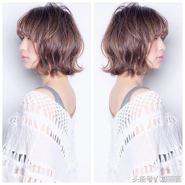头型短发女