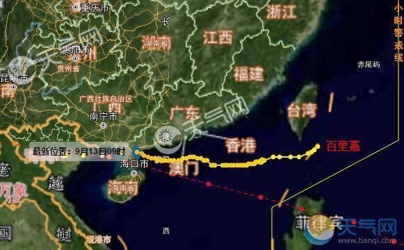 历年台风统计