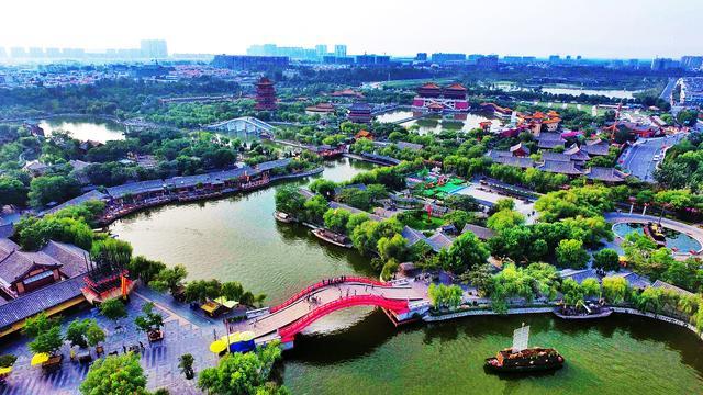 麻龙湾清明上河图