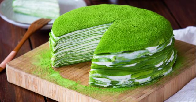 抹茶蛋糕在家也能做,這個方法特簡單,味道不比蛋糕店賣的差