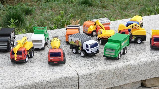 儿童工程车玩具运输修路小游戏