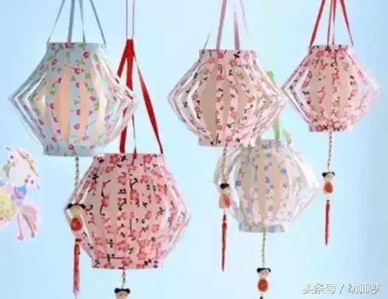 中秋节要来了,这3款灯笼的做法快收藏起来教给孩子吧