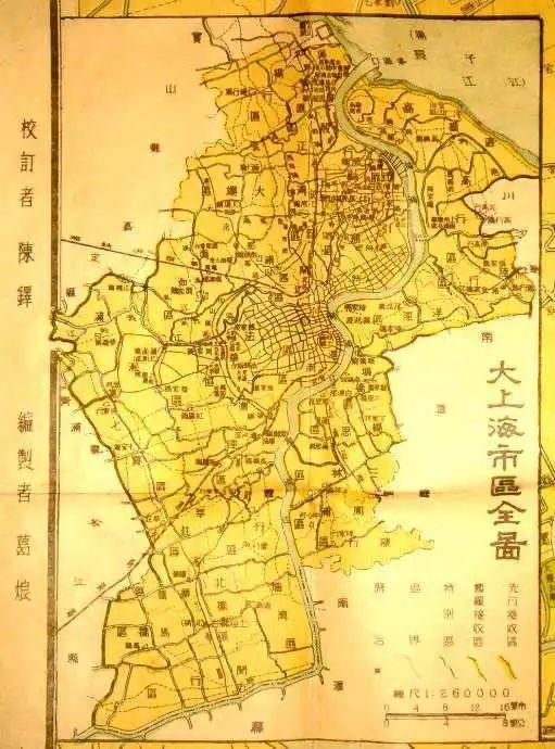 上海浦东新区地图
