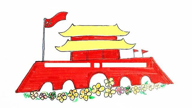 天安门画简单又漂亮的简笔画