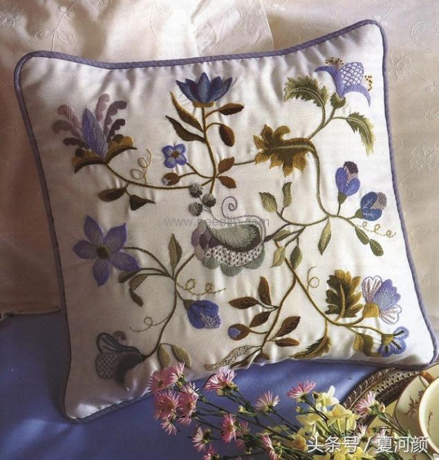 「吉林·传统美术」长白山满族枕头顶刺绣(国家级)