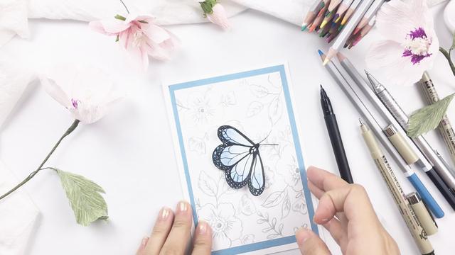 折紙大全生日立體賀卡