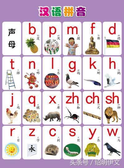 小学一年级拼音