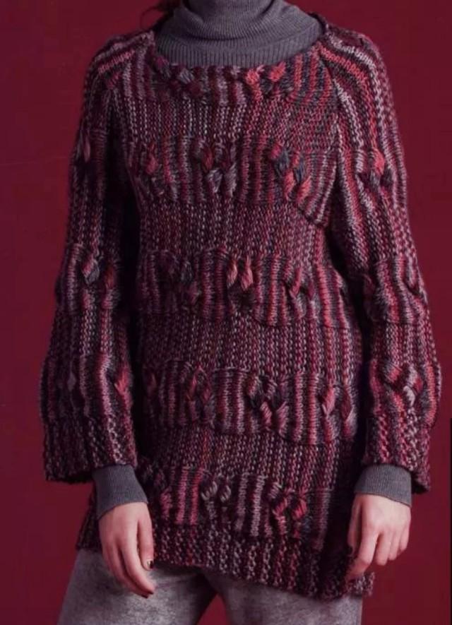 全棉针织毛衣裙,舒适不扎身,中长款一件暖暖过秋冬