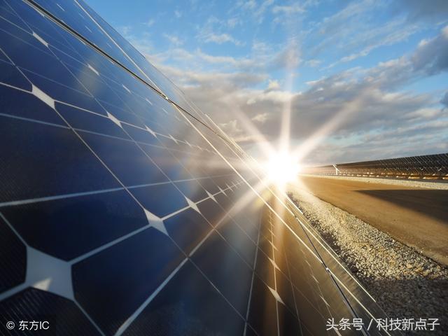 太陽能板發電量