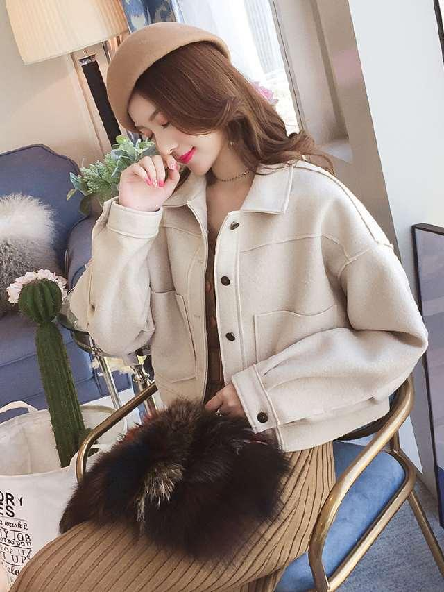 女士外套短款呢子价格_报价_促销_图片_多少钱-苏宁易购手机版