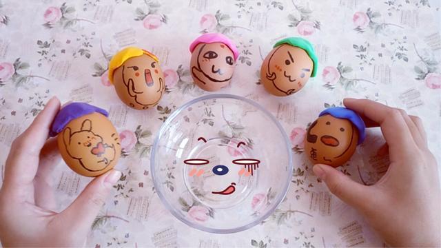 创意手工制作大全图解-蛋壳盆栽diy教程 - 5068儿童网