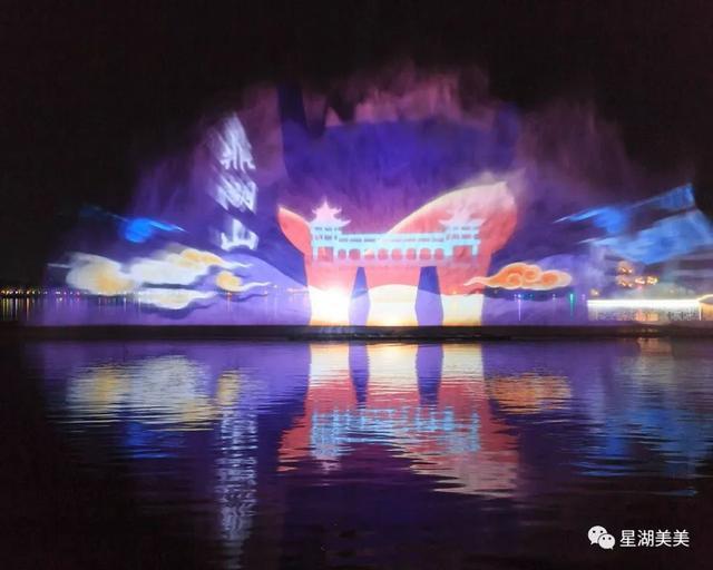 亞洲最大音樂噴泉
