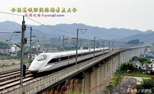 合福高铁旅游路线图 2015年7月开通带你赏四大名胜区-手机闽南网