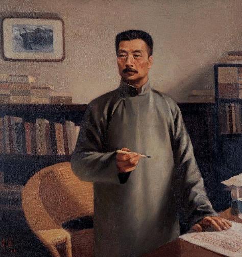 鲁迅先生去世后,郭沫若写了两副挽联,个个是经典!