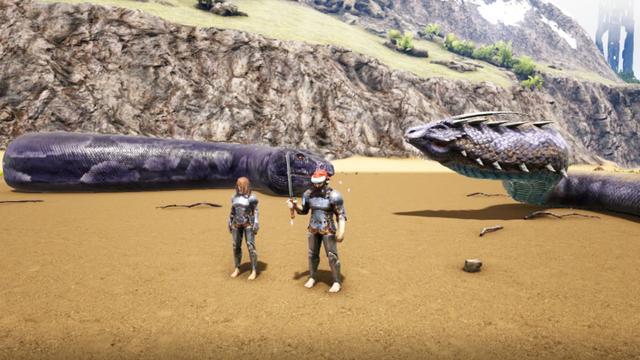 远古霸主,霸王龙VS泰坦巨蟒,到底谁会笑到最后