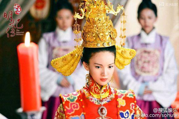 明朝皇后服饰绘画