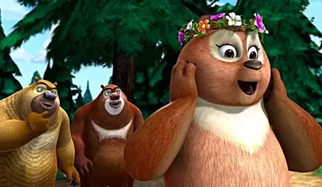 熊出没:山神团子竟然也有妈妈,网友:熊二终于看见岳母大人了