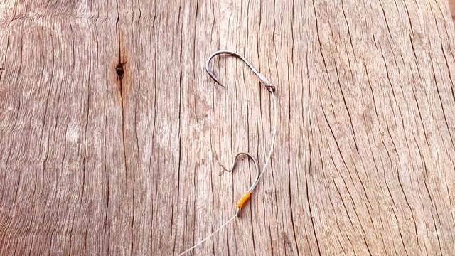 鱼钩快速绑法图解