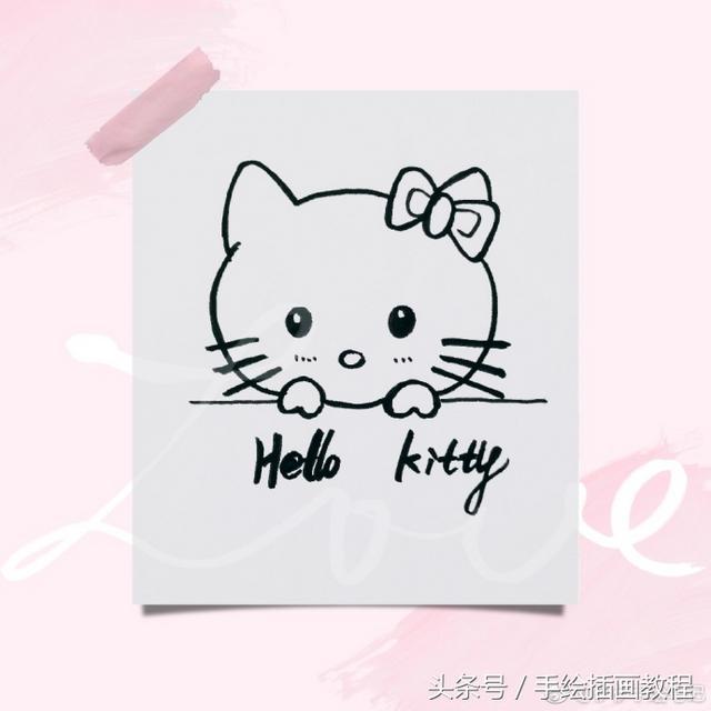 可爱小动物简笔画