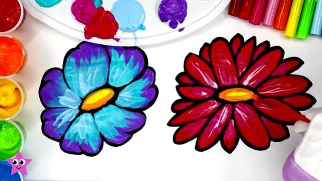 【简笔画】画一朵小红花送给你——每一天都要元气... -bilibili