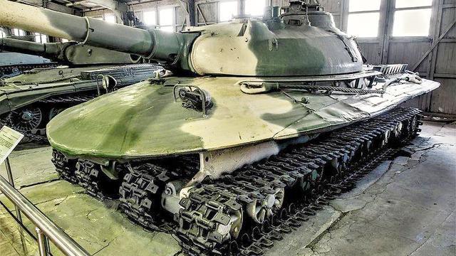 """用大炮发射核弹你见过吗?为核战而生的坦克:形状类似""""大飞碟"""""""