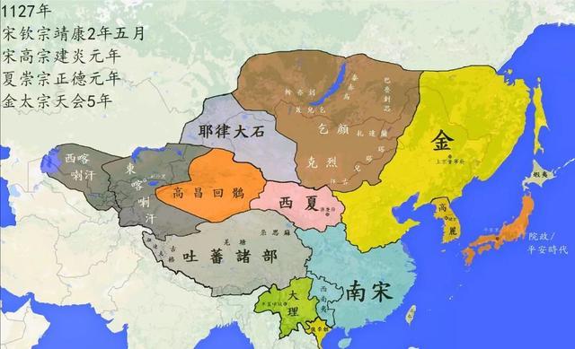 元朝地图最大时全图